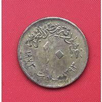 74-18 Египет, 10 миллим 1973 г.