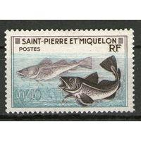 Сен-Пьер и Микелон. Михель- 381. Чистые.