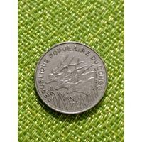 Конго 100 франков 1972  г