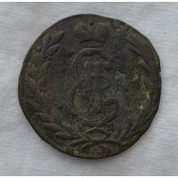 Монета  сибирская 1771 копейка