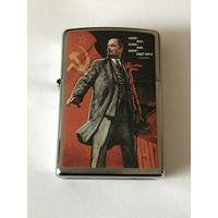 Zippo 200 Lenin бензиновая зажигалка оригинал