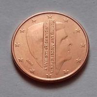 5 евроцентов, Нидерланды  2016 г., UNC