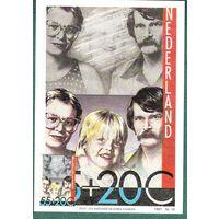НИДЕРЛАНДЫ  1981 г. карточка  Семья