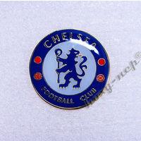 """Значок с Логотипом Футбольного Клуба """"ЧЕЛСИ"""" Лондон."""
