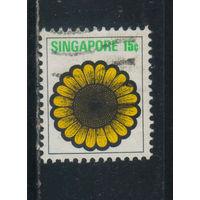 Сингапур Респ 1973 Цветы Стандарт #195