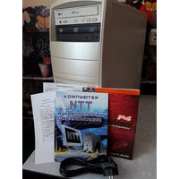 Системный блок Intel Pentium 4. На запчасти или восстановление. Подробности внутри.