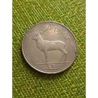 Ирландия 1 фунт 1995 г ( Благородный олень , фауна )