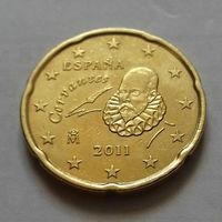 20 евроцентов, Испания 2011 г.