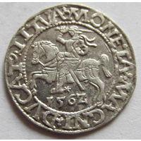 Полугрош 1562 в блеске