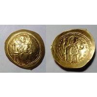 Византийская Империя, Константин X Дука, гистаменон номисма, 1059-1067 годы, г. Константинополь. 26 мм.