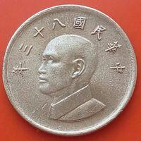 1 доллар 1994 ТАЙВАНЬ