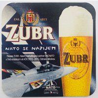 Подставка под пиво Zubr /Чехия/