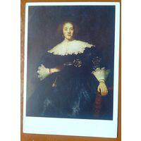 Рембрандт.  Дама с веером.  1982 г.