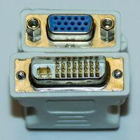 587-590 Переходник DVI (m) - VGA (f)