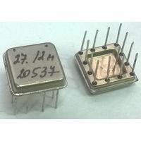 27,12 МГц. Кварц. (((цена за 5 штук))) Кварцевый резонатор или генератор