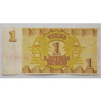 Латвия 1 рубль образец 1992
