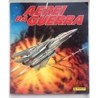Aerei da Guerra. Альбом журнал для наклеек. Боевые самолеты. Panini. Панини