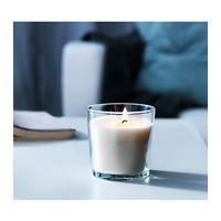 Ароматическая свеча в стакане IKEA ванильная