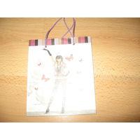 Пакет для подарков 16х13,5