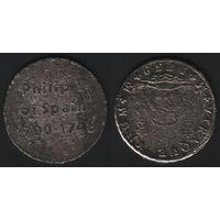 Philip V of Spain 1700-1746 -- VTRAQUE VNUM - M 1739 M (Испания) (f04)