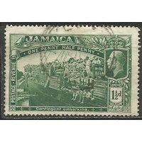 Ямайка. 1-я Мировая Война. 1919г. Mi#73.