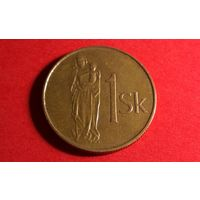 1 крона 1994. Словакия.