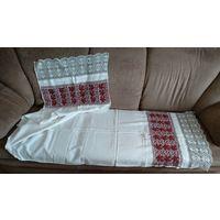 Рушник старинный с вышивкой