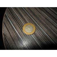 МЕКСИКА 10 песо 2000 год( биметалл,юбилейка-МИЛЛЕНИУМ)
