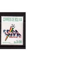 Боливия-1997(Мих.1353) **, Спорт, футбол