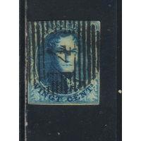 Бельгия Кор 1849 Леопольд I #4А