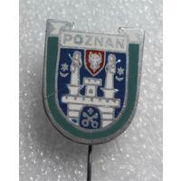 Значок. Познань. Польский значок #0225