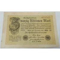 20 миллионов марок 1923г.
