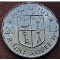 5588:  1 рупия 2012 Маврикий