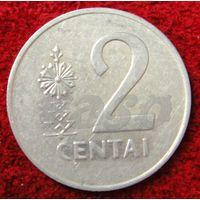 7253:  2 цента 1991 Литва