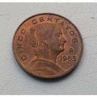 5 центаво 1963 г. Мексика