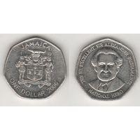 Ямайка km164 1 доллар 2006 год (al)(f16)