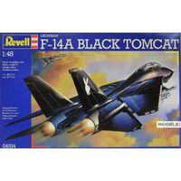 Американский истребитель Grumman F-14A Black Tomcat / 04514 / Revell, сборная модель 1/48 Revell 04514