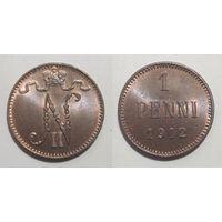 1 пенни 1912 UNC