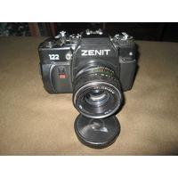С 1 рубля!Фотоаппарат Зенит-122 с Гелиос 44-М