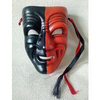 Маска театральная сувенир керамика