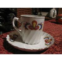 Чашка тарелка чай клейма Норвегия