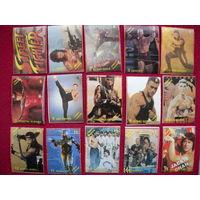 60 карточек Street Fighter