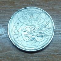 Италия 100 лир 1995 фао