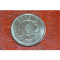 Бразилия 100 крузейро 1992