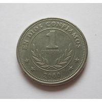 Никарагуа 1 кордоба 2000