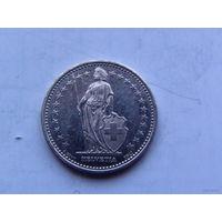 Швейцария 1\2 франка 1995г., 1 франк 1980г, 10 рапен 2007г. распродажа
