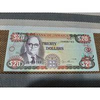 Ямайка 20 долларов 1995