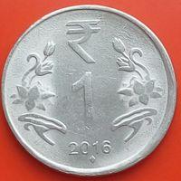 1 рупия 2016 ИНДИЯ - мон.двор Мумбаи
