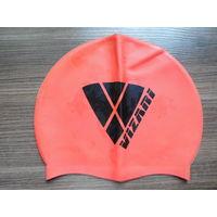 Силиконовая VIZARI шапочка для плавания подростковая
