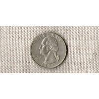 США 25 центов 1997 D //(Ок)